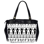 Halloween pattern Office Handbags (2 Sides)  Back