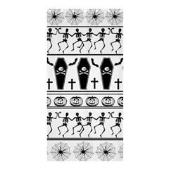 Halloween Pattern Shower Curtain 36  X 72  (stall)