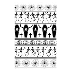 Halloween Pattern Shower Curtain 48  X 72  (small)