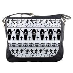 Halloween Pattern Messenger Bags