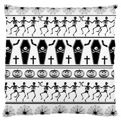 Halloween Pattern Large Cushion Case (two Sides)