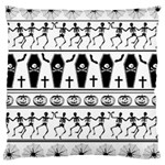 Halloween pattern Large Cushion Case (Two Sides) Front