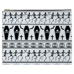 Halloween Pattern Cosmetic Bag (xxxl)