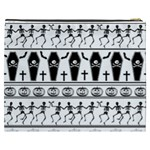 Halloween pattern Cosmetic Bag (XXXL)  Back