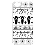 Halloween pattern Apple iPhone 5 Seamless Case (White) Front