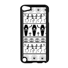 Halloween Pattern Apple Ipod Touch 5 Case (black) by ValentinaDesign