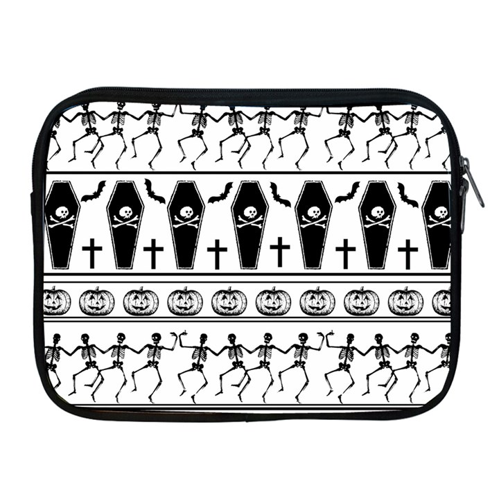 Halloween pattern Apple iPad 2/3/4 Zipper Cases