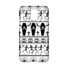 Halloween Pattern Samsung Galaxy S5 Hardshell Case  by ValentinaDesign
