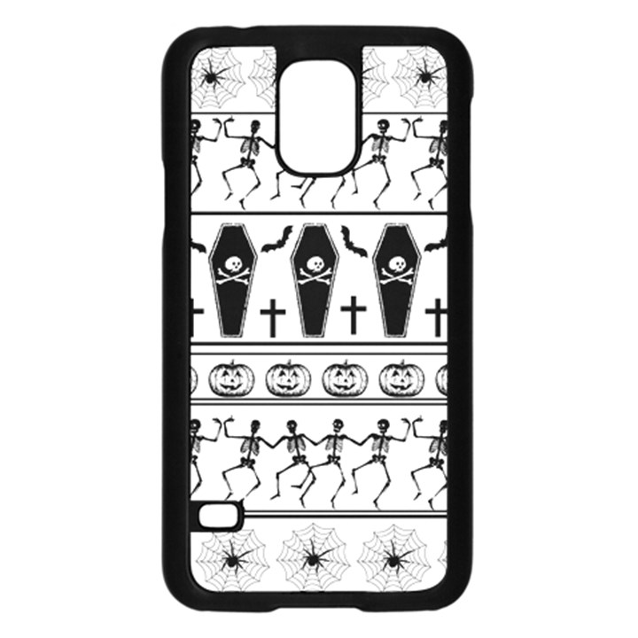 Halloween pattern Samsung Galaxy S5 Case (Black)