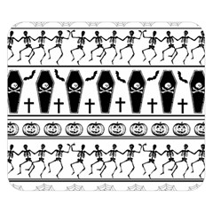 Halloween Pattern Double Sided Flano Blanket (small)  by ValentinaDesign