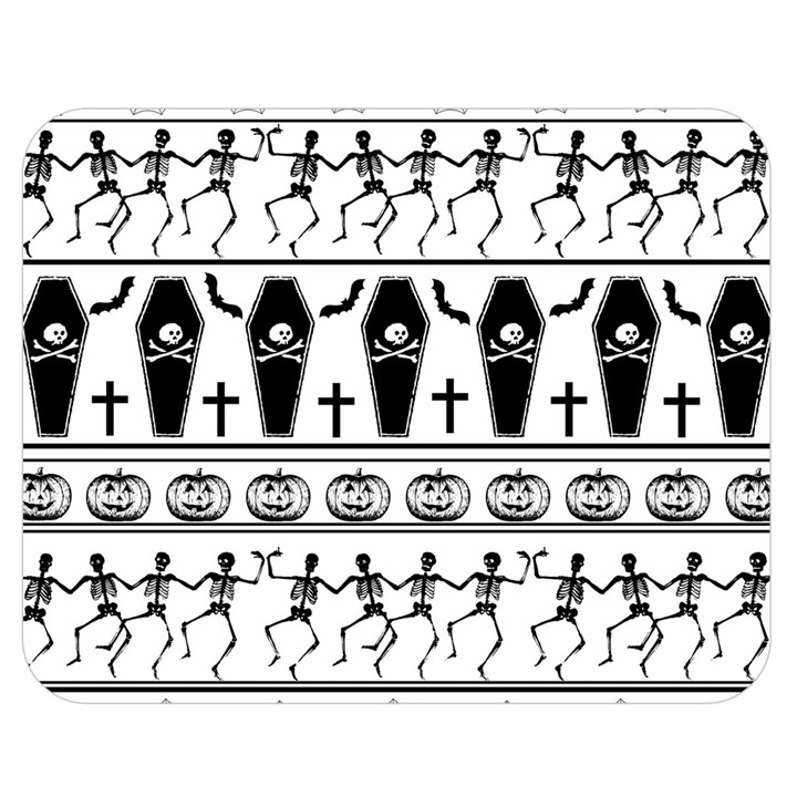 Halloween pattern Double Sided Flano Blanket (Medium)