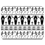 Halloween pattern Double Sided Flano Blanket (Medium)  60 x50 Blanket Back