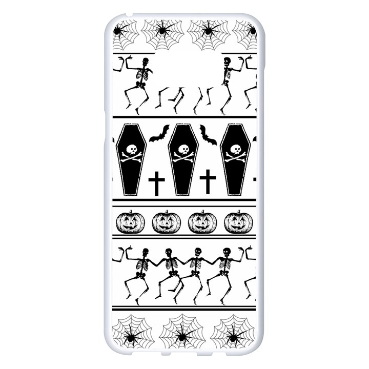 Halloween pattern Samsung Galaxy S8 Plus White Seamless Case
