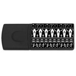 Halloween pattern Rectangular USB Flash Drive