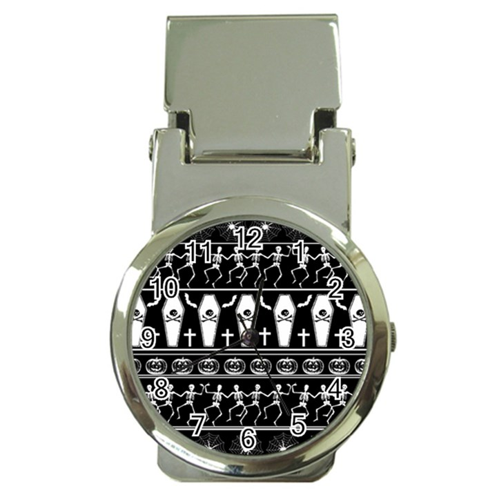 Halloween pattern Money Clip Watches