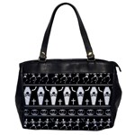 Halloween pattern Office Handbags Front