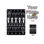 Halloween pattern Playing Cards 54 (Mini)