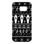 Halloween pattern Samsung Galaxy S7 Edge Hardshell Case