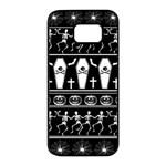 Halloween pattern Samsung Galaxy S7 edge Black Seamless Case
