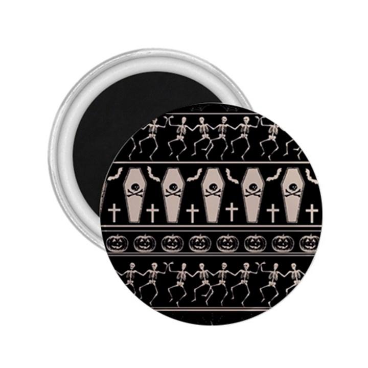 Halloween pattern 2.25  Magnets