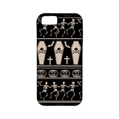 Halloween Pattern Apple Iphone 5 Classic Hardshell Case (pc+silicone) by ValentinaDesign