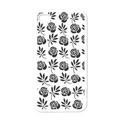 Vintage Roses Apple Iphone 4 Case (white) by allgirls