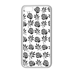 Vintage Roses Apple Iphone 5c Seamless Case (white) by allgirls