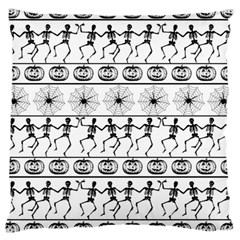 Halloween Pattern Large Cushion Case (two Sides) by ValentinaDesign