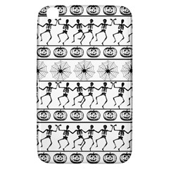 Halloween Pattern Samsung Galaxy Tab 3 (8 ) T3100 Hardshell Case  by ValentinaDesign