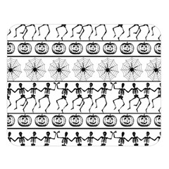 Halloween Pattern Double Sided Flano Blanket (large)  by ValentinaDesign