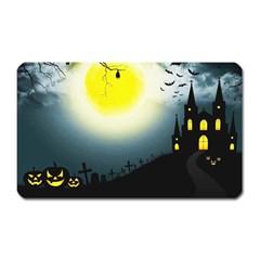 Halloween Landscape Magnet (rectangular) by ValentinaDesign