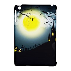 Halloween Landscape Apple Ipad Mini Hardshell Case (compatible With Smart Cover) by ValentinaDesign