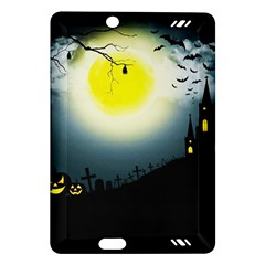 Halloween Landscape Amazon Kindle Fire Hd (2013) Hardshell Case by ValentinaDesign
