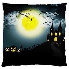 Halloween Landscape Standard Flano Cushion Case (one Side) by ValentinaDesign