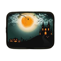 Halloween Landscape Netbook Case (small)  by ValentinaDesign