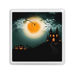 Halloween Landscape Memory Card Reader (square)  by ValentinaDesign