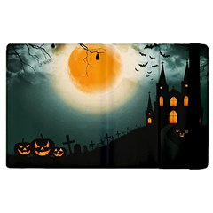 Halloween Landscape Apple Ipad 3/4 Flip Case by ValentinaDesign
