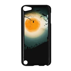 Halloween Landscape Apple Ipod Touch 5 Case (black) by ValentinaDesign