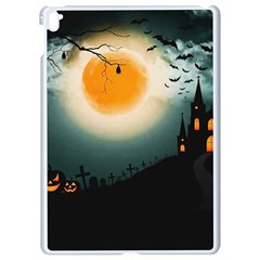 Halloween Landscape Apple Ipad Pro 9 7   White Seamless Case by ValentinaDesign