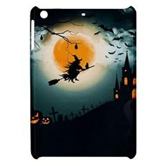 Halloween Landscape Apple Ipad Mini Hardshell Case by ValentinaDesign
