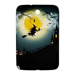 Halloween Landscape Samsung Galaxy Note 8 0 N5100 Hardshell Case  by ValentinaDesign
