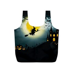 Halloween Landscape Full Print Recycle Bags (s)  by ValentinaDesign