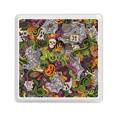 Halloween Pattern Memory Card Reader (square)  by ValentinaDesign