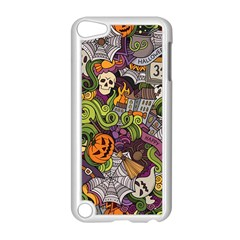 Halloween Pattern Apple Ipod Touch 5 Case (white) by ValentinaDesign