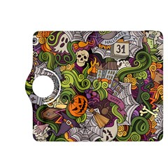 Halloween Pattern Kindle Fire Hdx 8 9  Flip 360 Case by ValentinaDesign