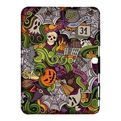 Halloween Pattern Samsung Galaxy Tab 4 (10 1 ) Hardshell Case  by ValentinaDesign