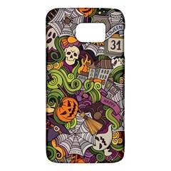 Halloween Pattern Galaxy S6 by ValentinaDesign