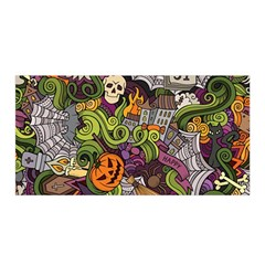 Halloween Pattern Satin Wrap by ValentinaDesign