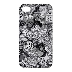 Halloween Pattern Apple Iphone 4/4s Premium Hardshell Case by ValentinaDesign