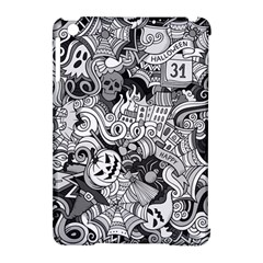 Halloween Pattern Apple Ipad Mini Hardshell Case (compatible With Smart Cover) by ValentinaDesign